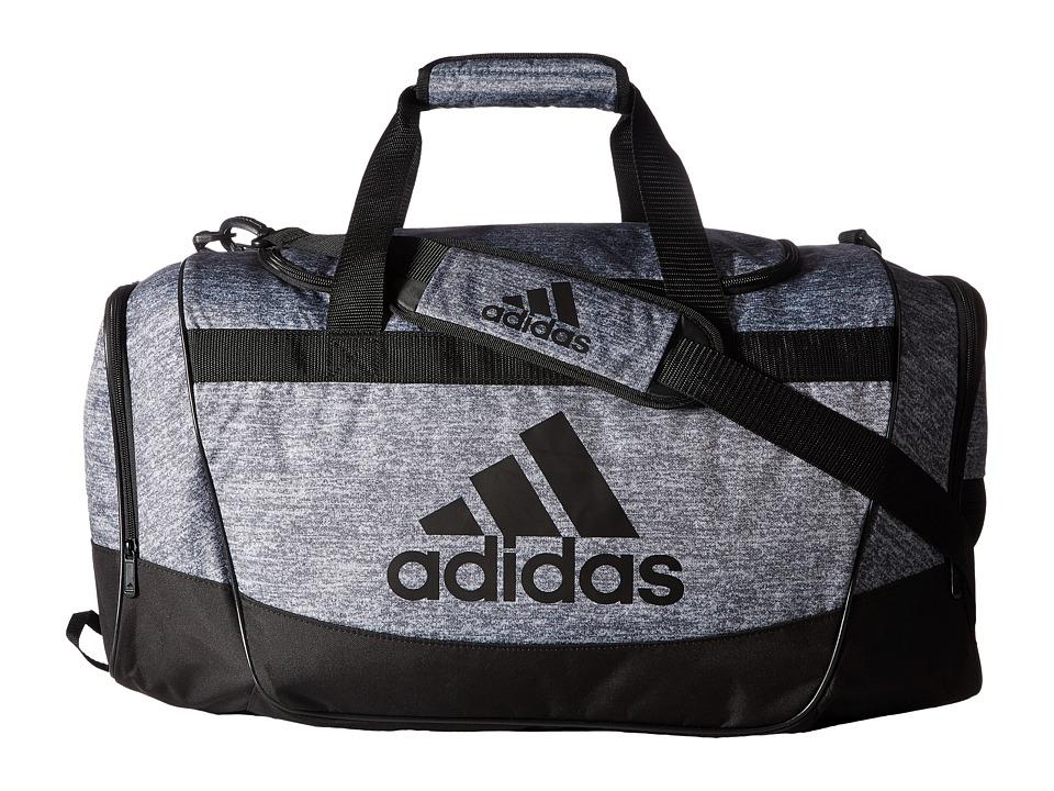 adidas - Defender II Duffel Medium (Jersey Onix/Black/Light Onix) Duffel Bags