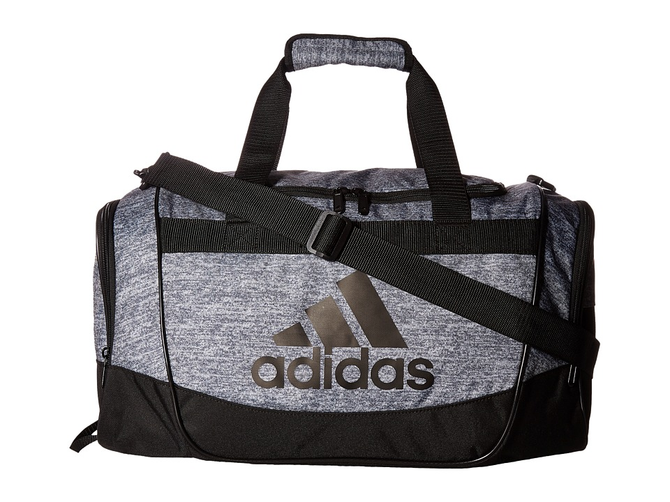 adidas - Defender II Duffel Small (Jersey Onix/Black/Light Onix) Duffel Bags