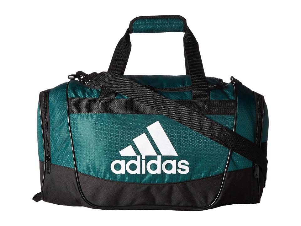 adidas - Defender II Small Duffel (Collegiate Green/Black/White) Duffel Bags