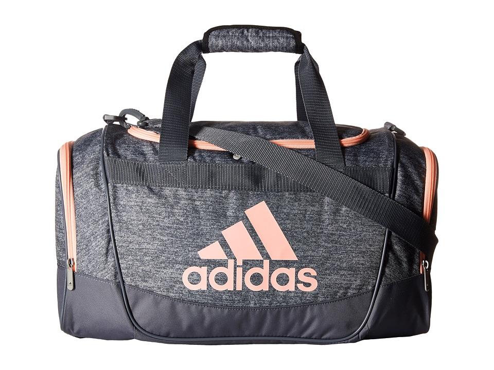 adidas - Defender II Duffel Small (Jersey Onix/Onix/Haze Coral) Duffel Bags