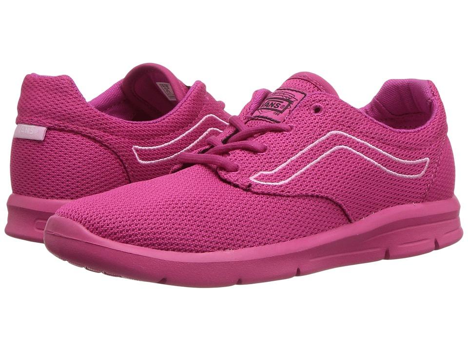 Vans Kids Iso 1.5 (Little Kid/Big Kid) ((Mono Mesh) Beetroot Purple) Girls Shoes