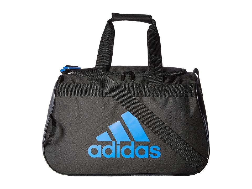 adidas - Diablo Small Duffel (Black/Jersey Black/Blue) Duffel Bags