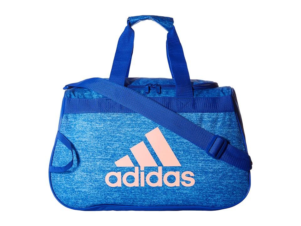 adidas - Diablo Small Duffel (Jersey Blue/Blue/Still Breeze) Duffel Bags