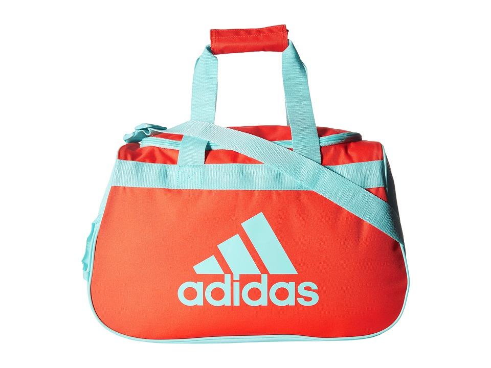 adidas - Diablo Small Duffel (Easy Coral/Clear Aqua) Duffel Bags