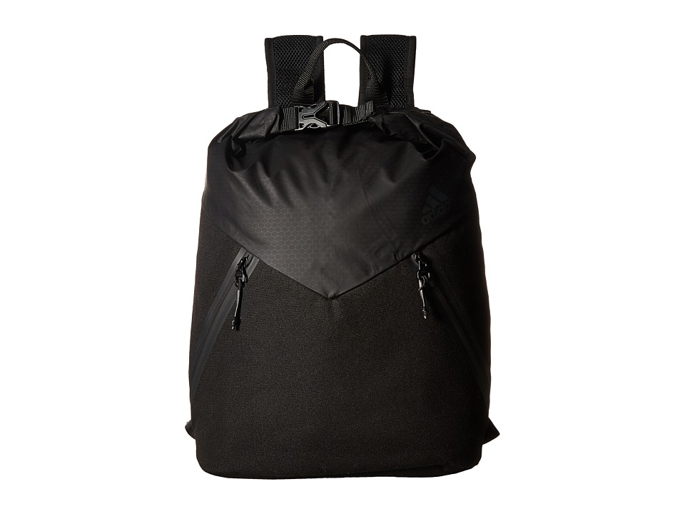 adidas - Sport ID Clip Pack (Black) Backpack Bags