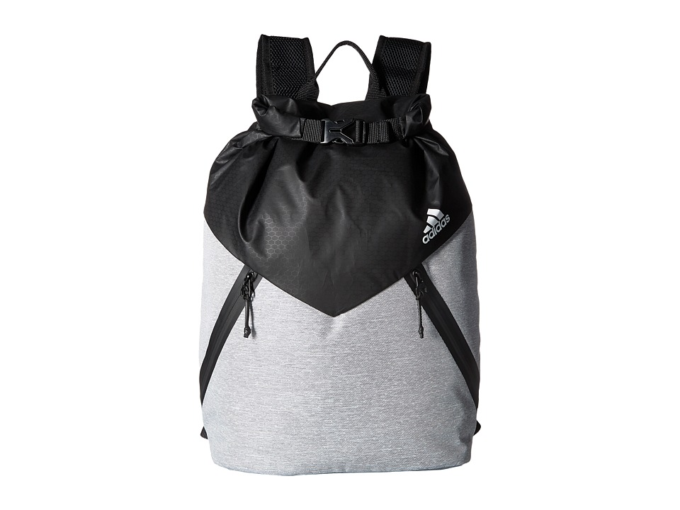 adidas - Sport ID Clip Pack (Light Onix/Black) Backpack Bags