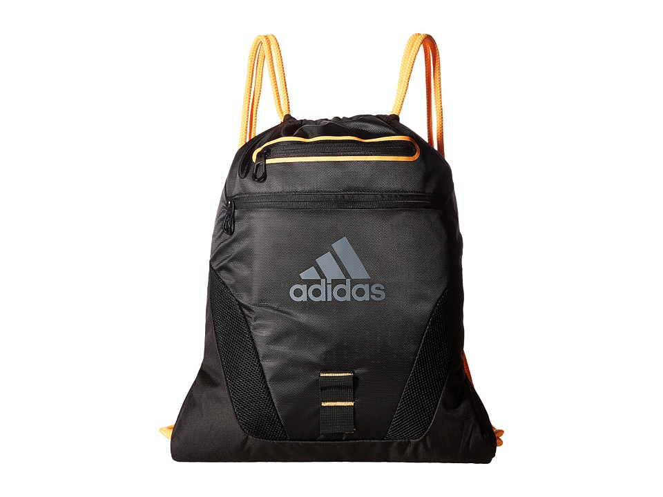 adidas - Rumble Sackpack (Black/Grey Silver) Bags