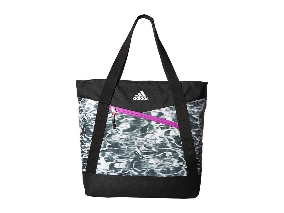 adidas - Squad III Tote (Ponder/Black/Shock Purple/Shock Pink/White) Tote Handbags