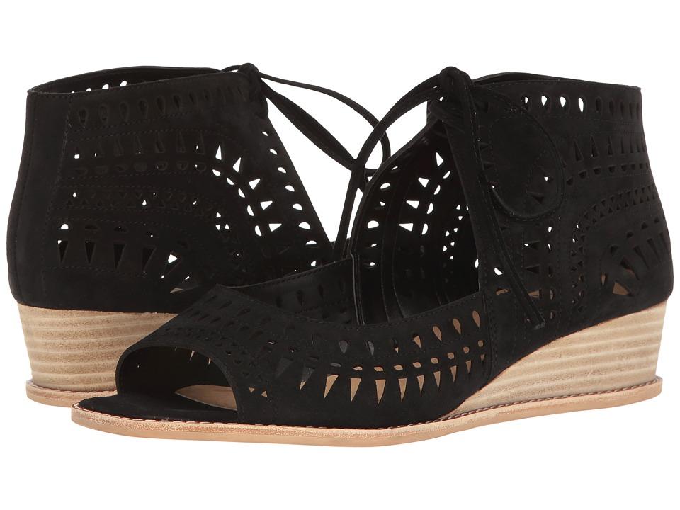 Vaneli - Janice (Black Suede) Women's Sandals