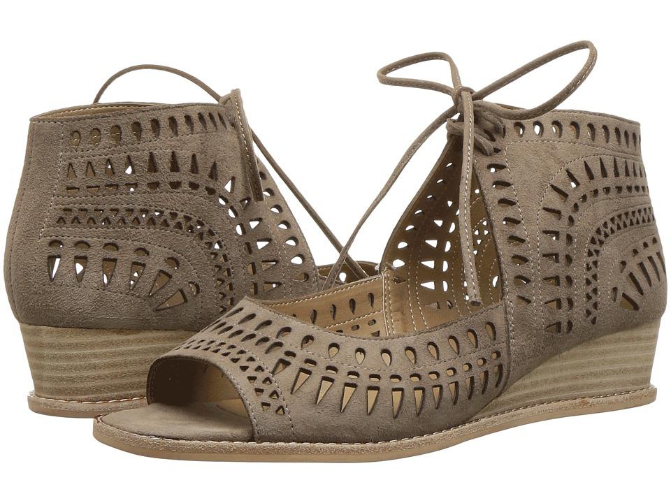 Vaneli - Janice (Taupe Suede) Women's Sandals