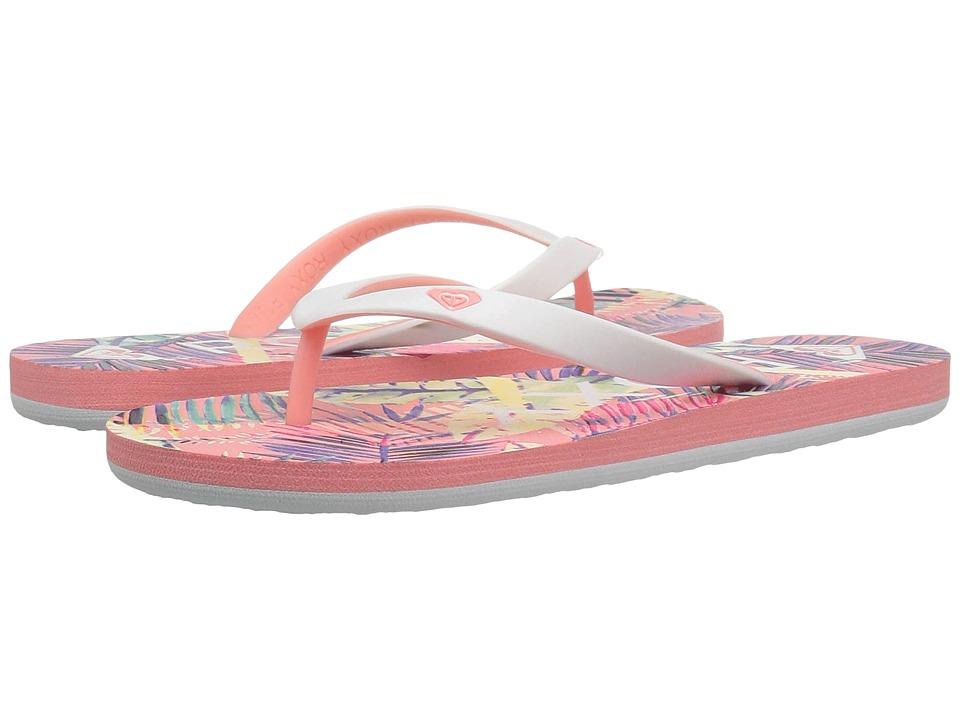 Roxy Kids - Tahiti V (Little Kid/Big Kid) (Peach Parfait/Sea) Girls Shoes