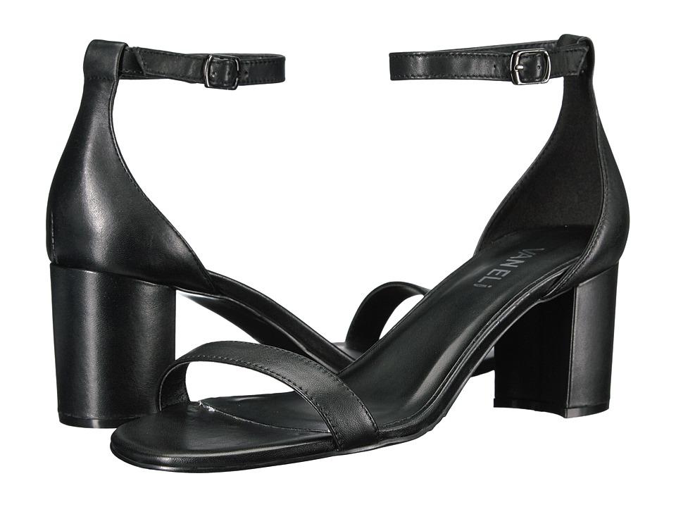 Vaneli - Lilian (Black Nappa/Gunmetal Buckle) High Heels