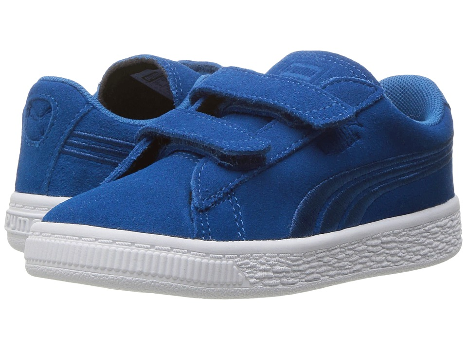 Puma Kids - Suede Classic Badge V INF (Toddler) (True Blue/True Blue) Boys Shoes