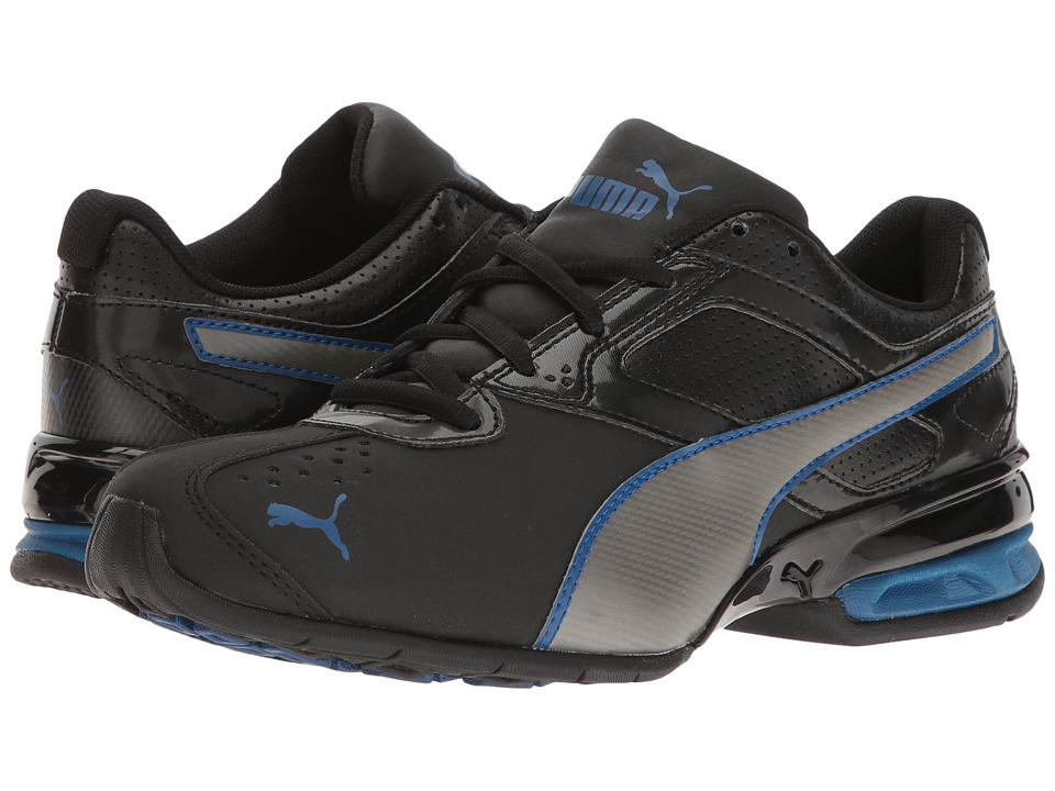 Puma Kids - Tazon 6 SL Jr (Big Kid) (Puma Black/Puma Aged Silver) Boys Shoes
