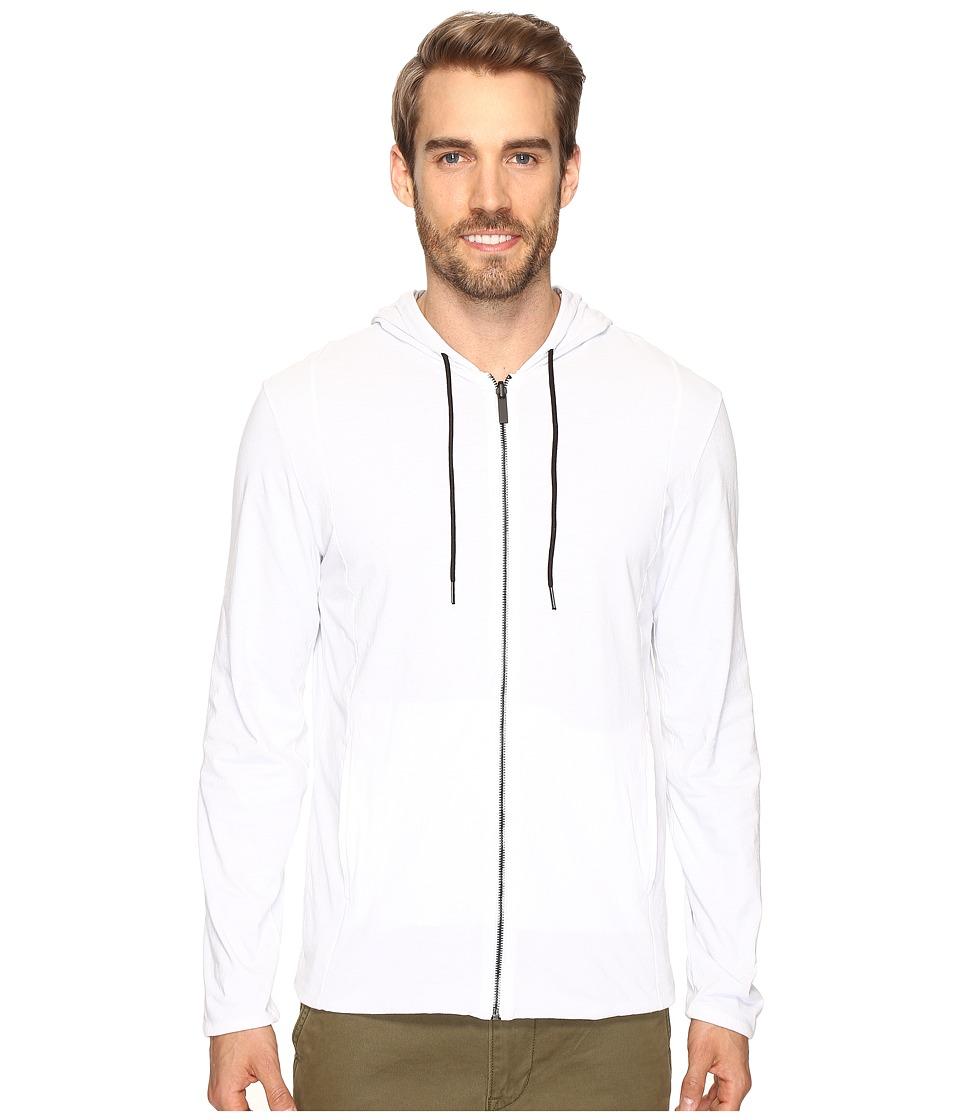 Kenneth Cole Sportswear - Reversible Hoodie (White) Men's Sweater