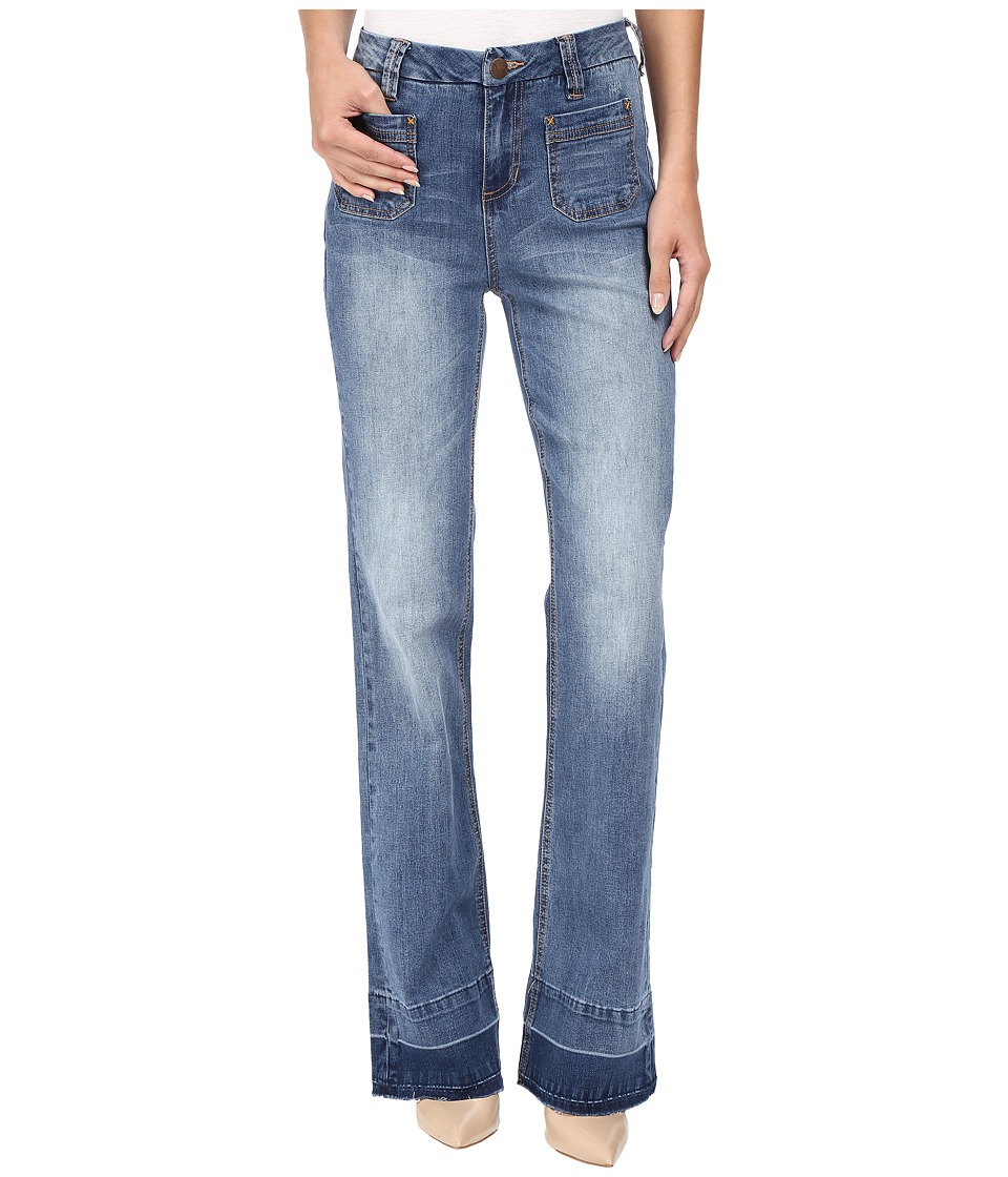 Jag Jeans - Wallace Flare Jeans in Republic Denim (Blue Flint) Women's Jeans