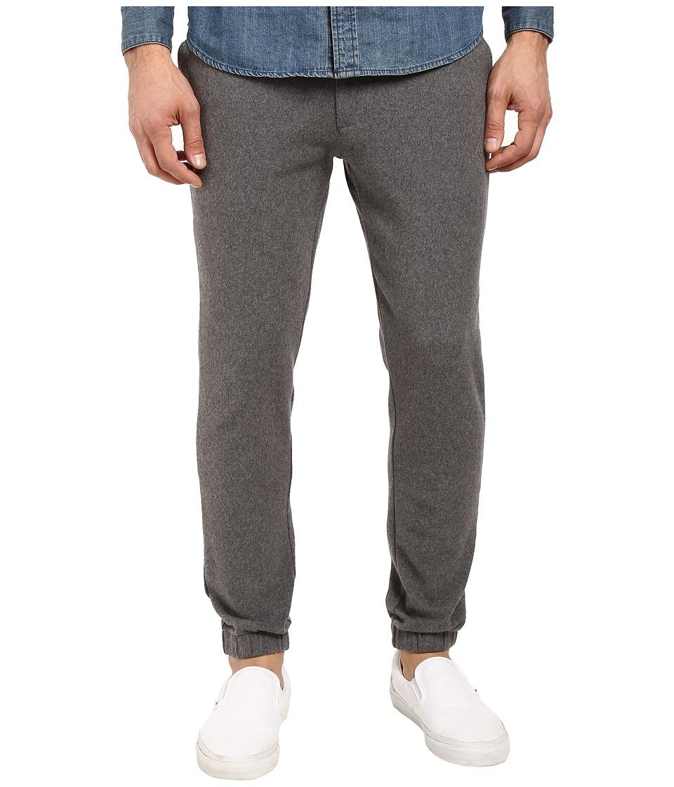 Kenneth Cole Sportswear - Flat Front Jogger Pants (Flannel Heather) Men's Casual Pants