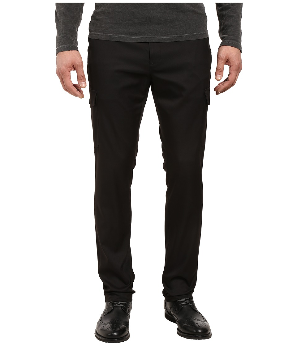Kenneth Cole Sportswear Techy Cargo Pants (Black) Men