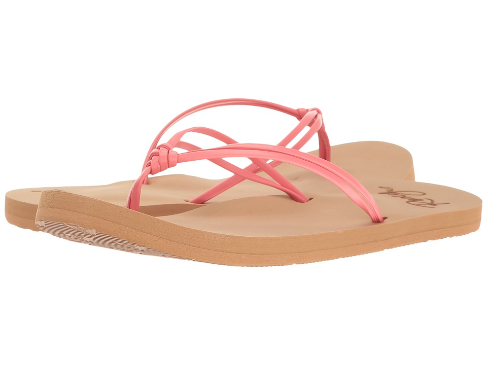 Roxy Kids Lahaina (Little Kid/Big Kid) (Coral) Girls Shoes