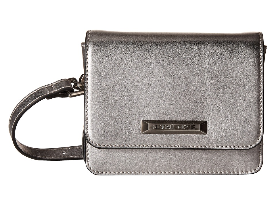 KENDALL + KYLIE - Evelyn Belt Bag (Gunmetal) Handbags