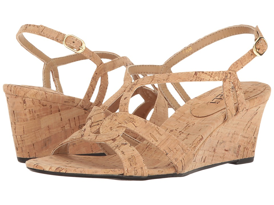 Vaneli - Matty (Natural Cork) Women's Wedge Shoes