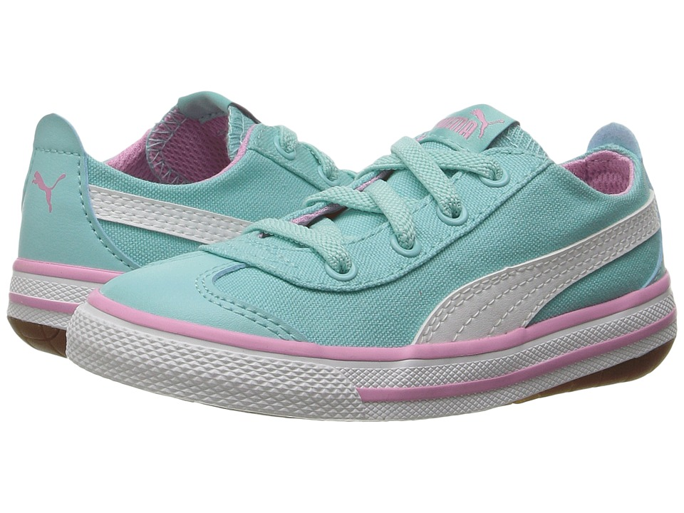 Puma Kids 917 FUN AC Inf (Toddler) (Aruba Blue/Puma White) Girls Shoes