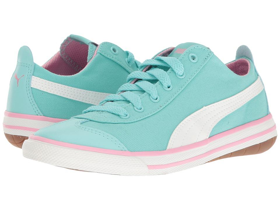 Puma Kids 917 FUN PS (Little Kid/Big Kid) (Aruba Blue/Puma White) Girls Shoes