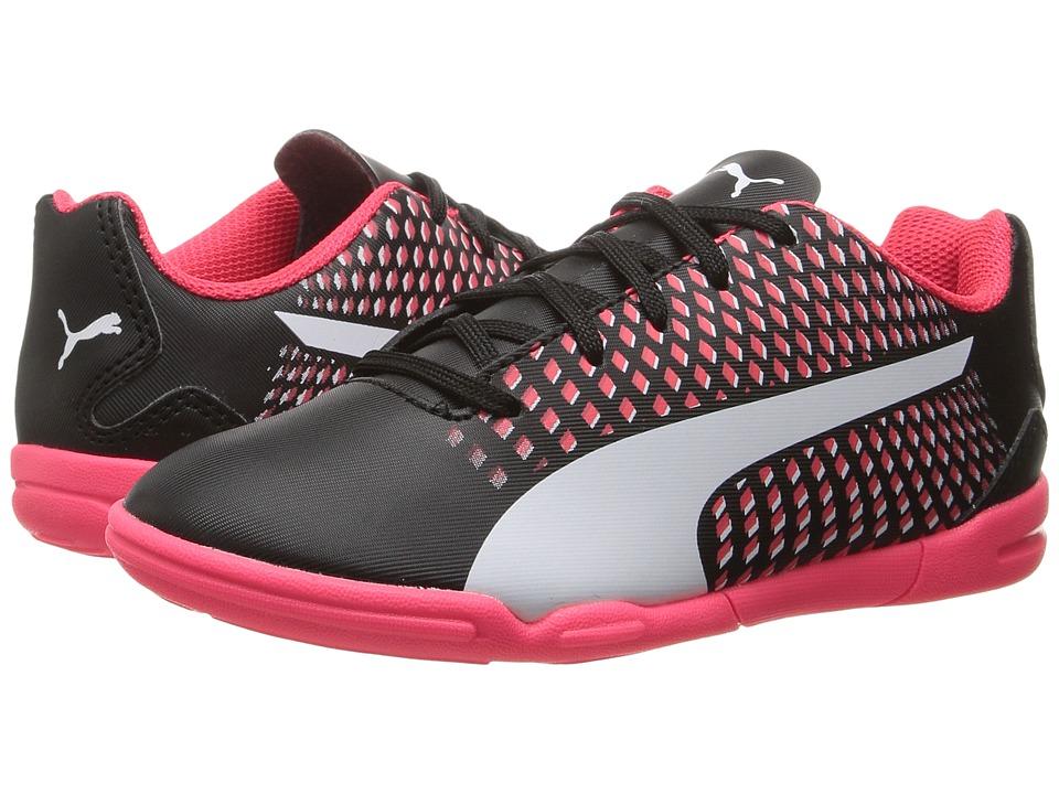 Puma Kids Adreno III IT Jr (Toddler/Little Kid/Big Kid) (Puma Black/Puma White/Bright Plasma) Kids Shoes
