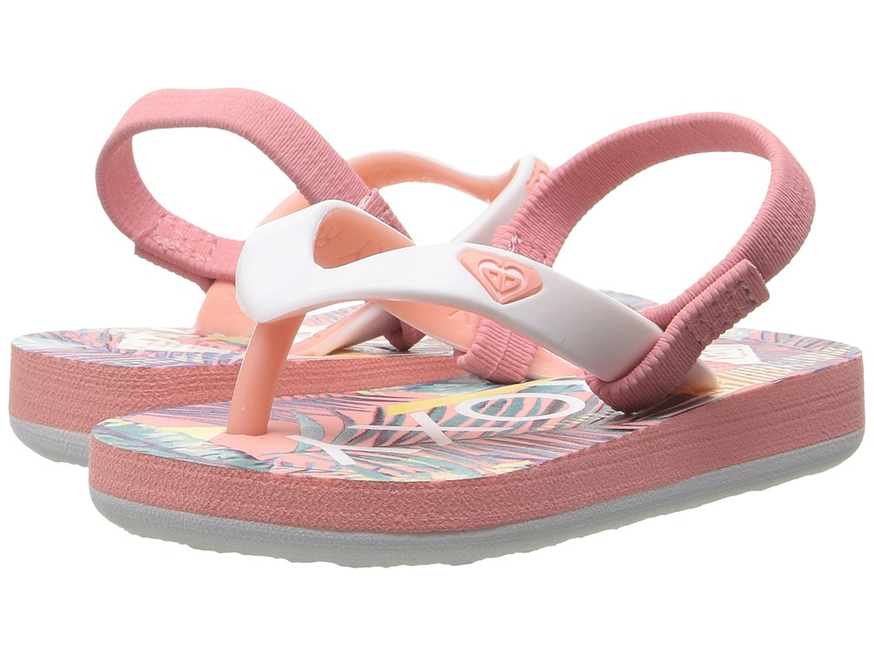 Roxy Kids - Tahiti VI (Toddler/Little Kid) (Peach Parfait/Sea) Girls Shoes