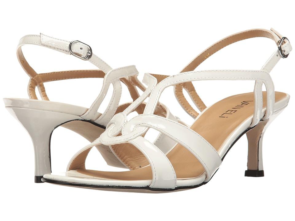 Vaneli - Meteor (White Patent) High Heels