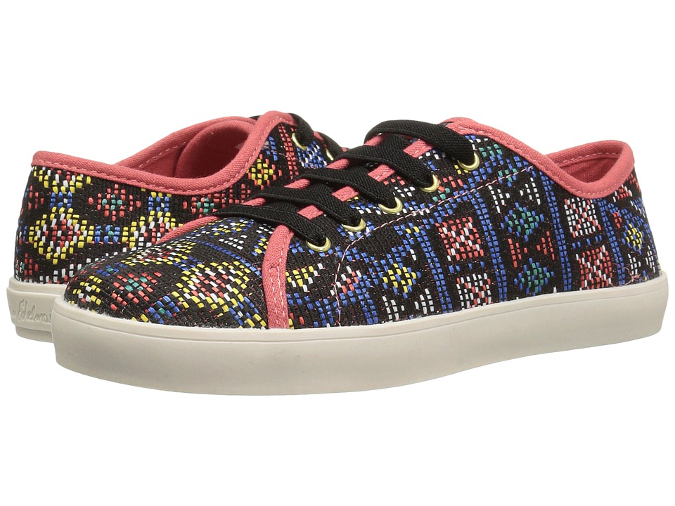 Sam Edelman Kids - Naomi Sneaker (Little Kid/Big Kid) (Red Multi) Girl's Shoes