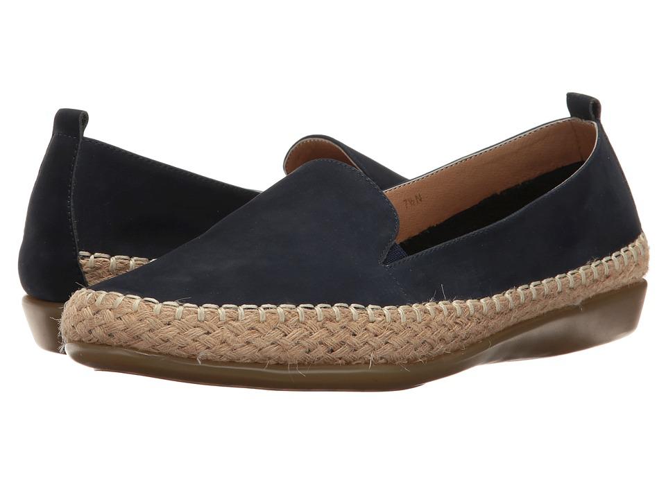 Vaneli - Nadette (Navy Nabuck) Women's Slip on Shoes