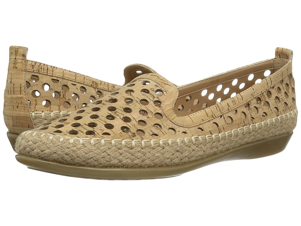 Vaneli - Nadim (Natural Cork) Women's Slip on Shoes