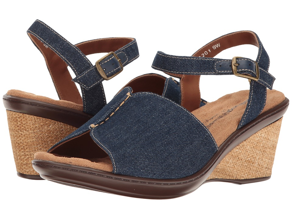 Walking Cradles - Lucca (Blue Denim) Women's Sandals
