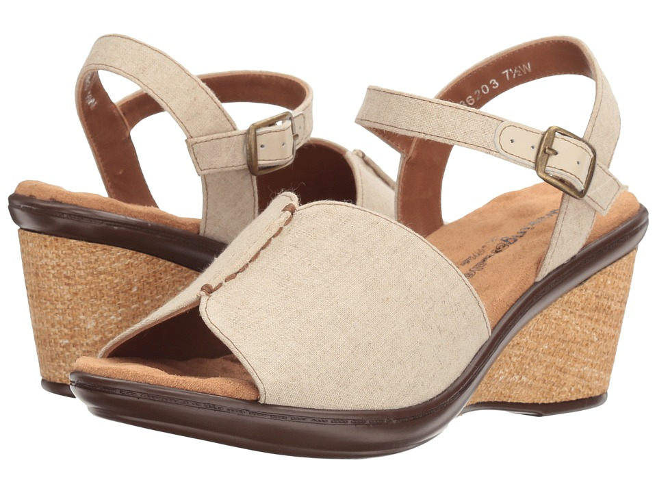 Walking Cradles - Lucca (Natural Fabric) Women's Sandals