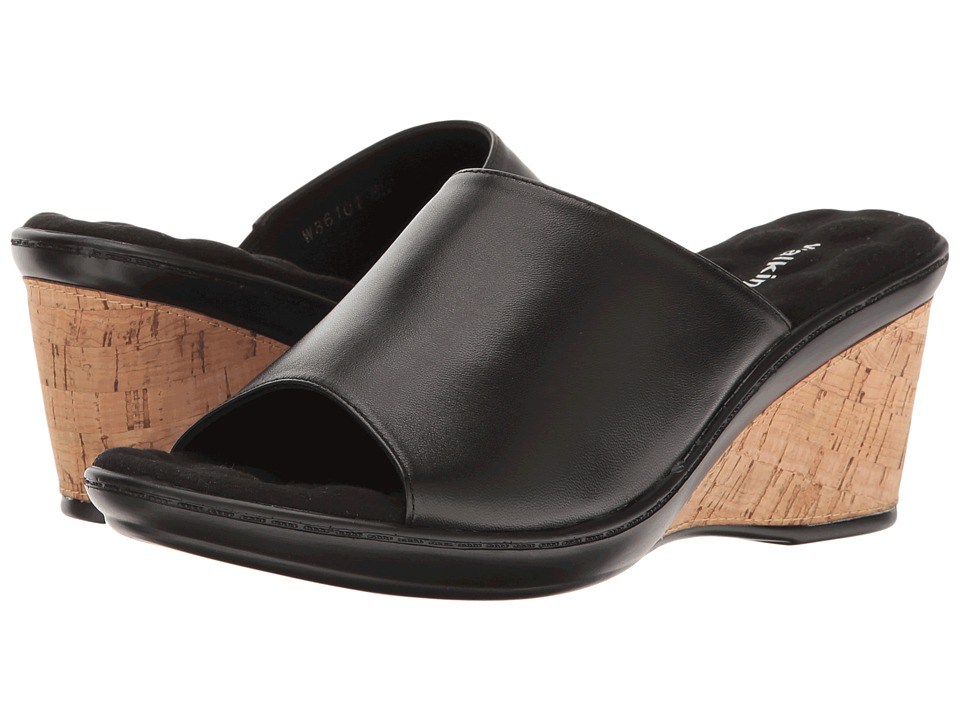 Walking Cradles - Lyon (Black Nappa) Women's Sandals