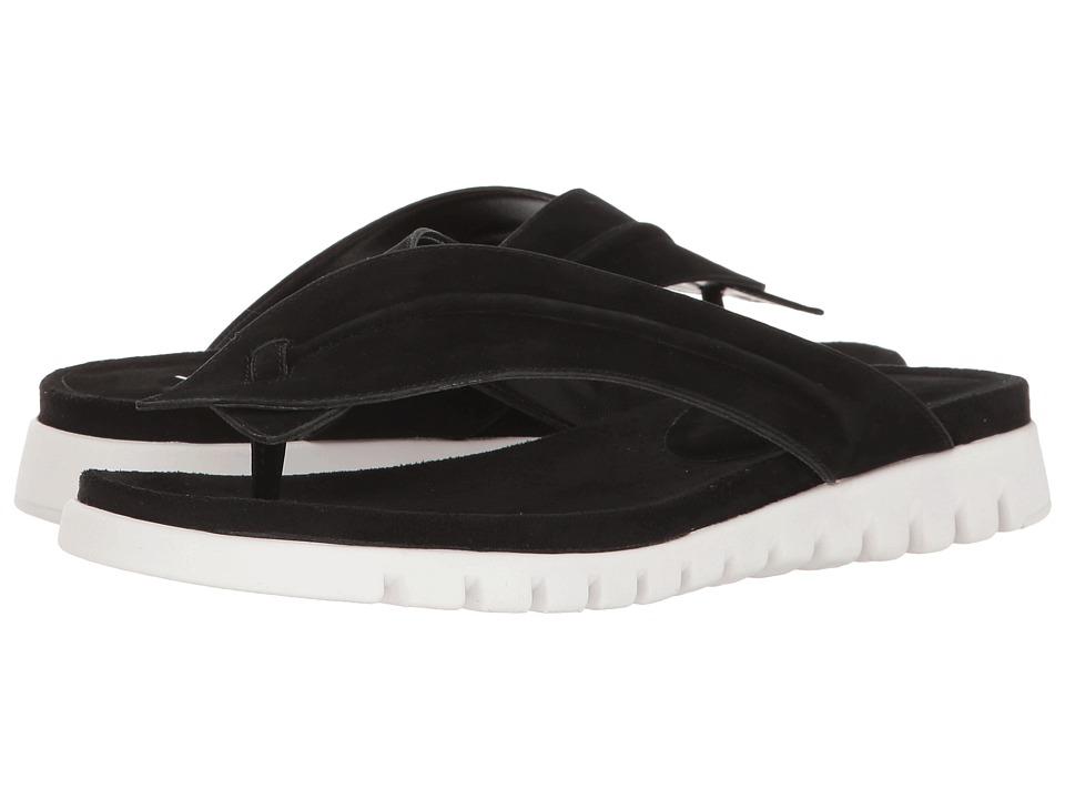 Vaneli - Rennet (Black Soft Nabuck) Women's Sandals