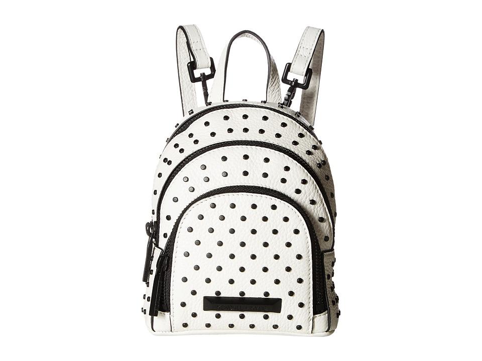 KENDALL + KYLIE - Sloane Nano Studded Backpack (White) Backpack Bags