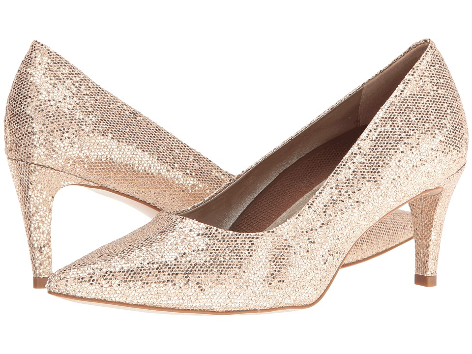 Walking Cradles - Sophia (Gold Sparkle Fabric) High Heels
