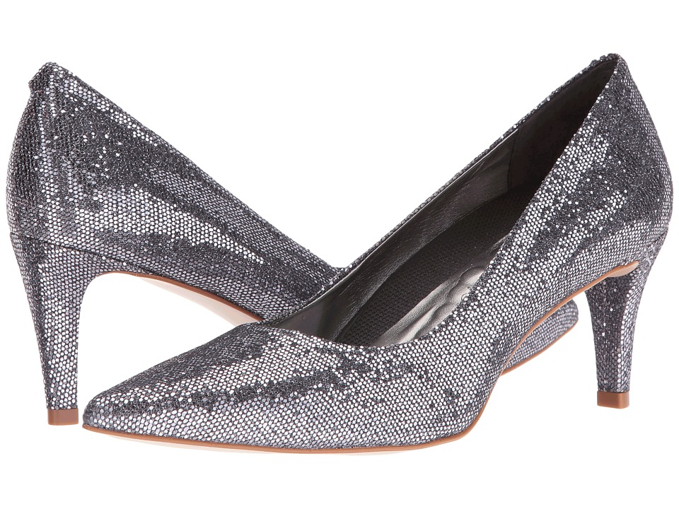 Walking Cradles - Sophia (Pewter Sparkle Fabric) High Heels