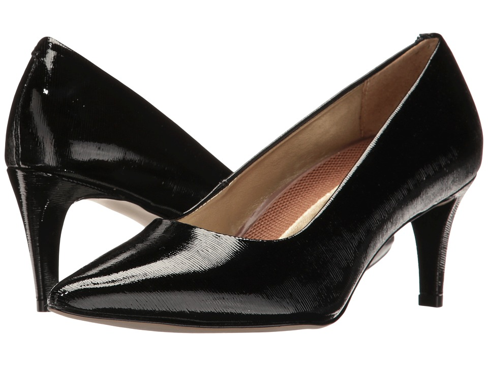 Walking Cradles - Sophia (Black Bambu Patent) High Heels