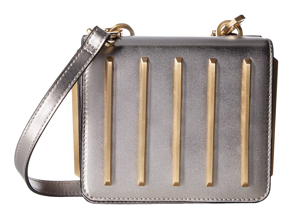 KENDALL + KYLIE - Baxter Crossbody (Gunmetal) Cross Body Handbags