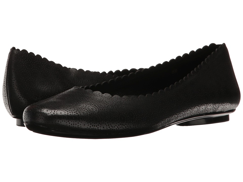 Vaneli - Sorrel (Black Perfed Nappa) Women's Slip on Shoes