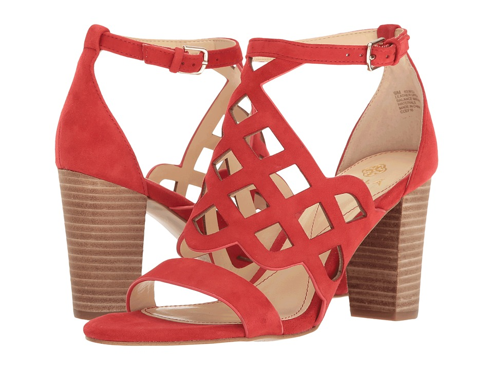 Isola - Despina (Lipstick Red King Suede) High Heels
