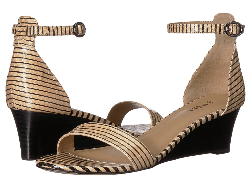 Vaneli - Valma (Nude/Black Striped Whip Snake) Women's Sandals