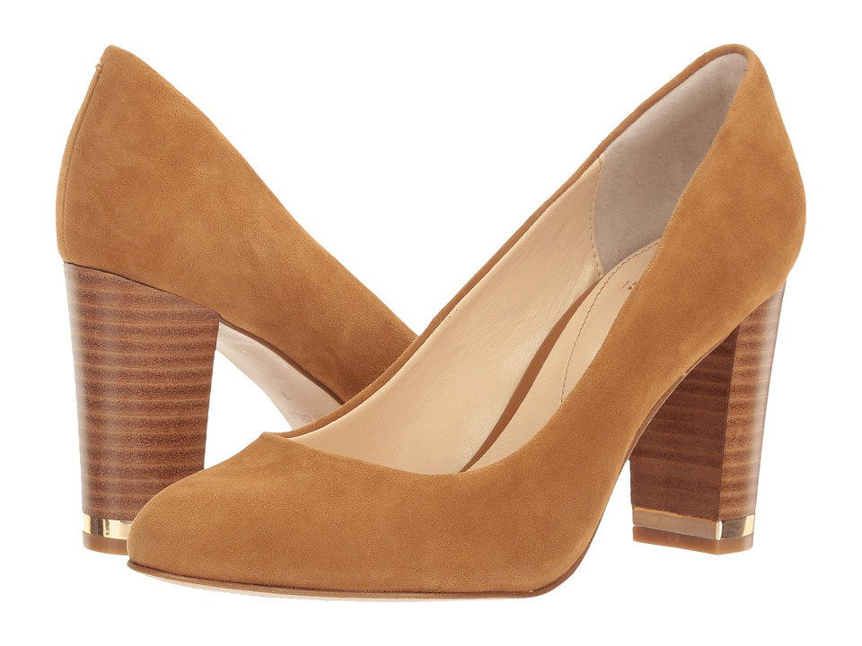 Isola - Eleni III (Golden Tan King Suede) High Heels