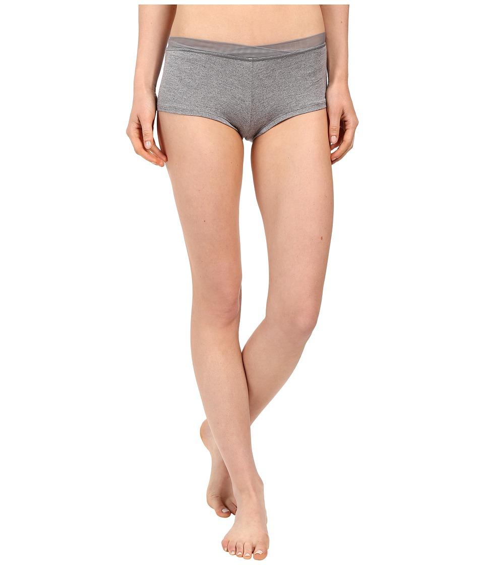 Splendid - Essential Girlshorts (Medium Marled Heather) Women's Underwear