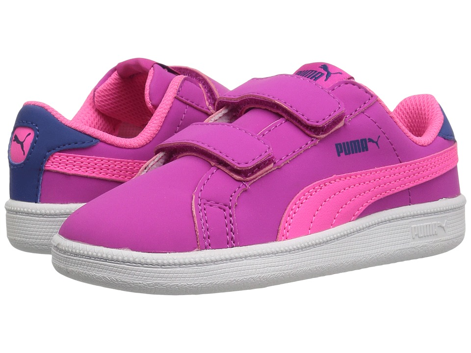 Puma Kids - Smash Fun Buck V INF (Toddler) (Ultra Magenta/Knockout Pink) Girls Shoes