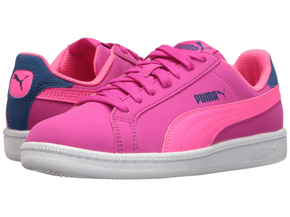 Puma Kids - Smash Fun Buck Jr (Big Kid) (Ultra Magenta/Knockout Pink) Girls Shoes