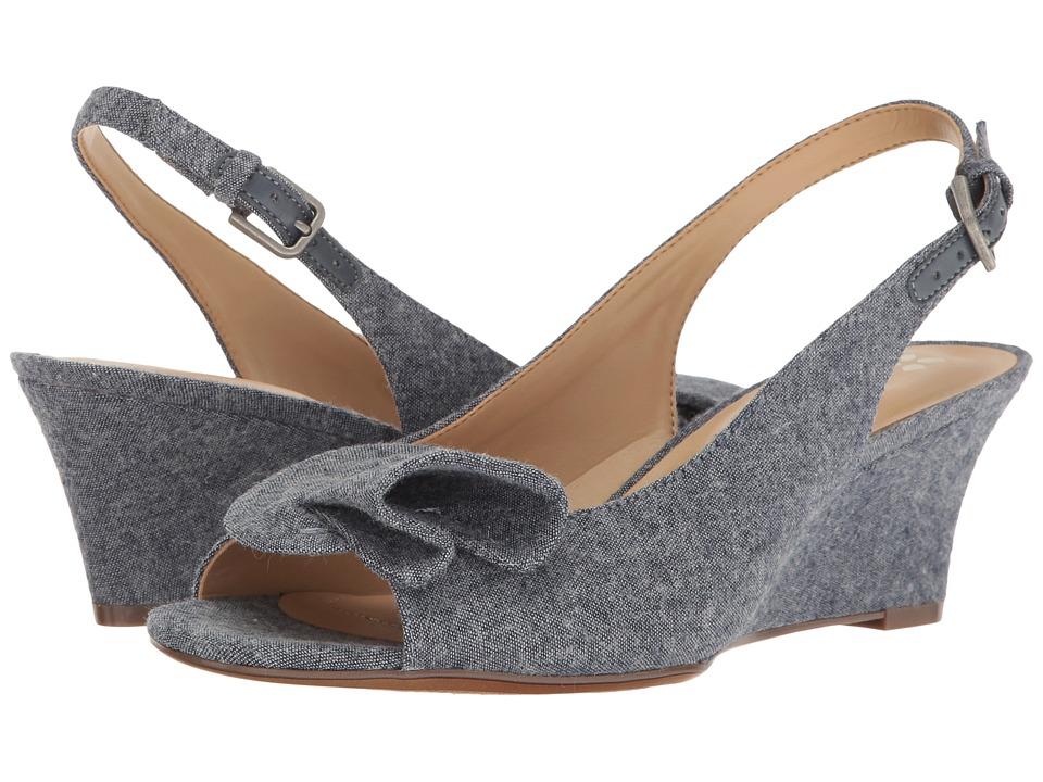 Naturalizer - Tinna (Denim Fabric) Women's Wedge Shoes